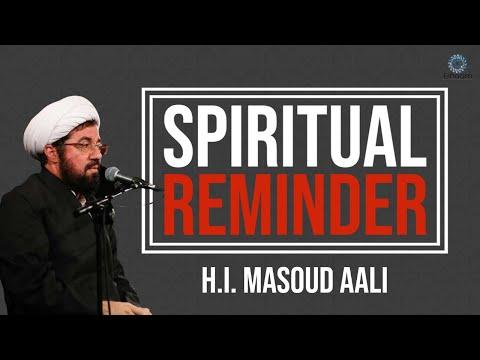 [Clip] Spiritual Reminder   H.I. Masoud Aali   Muharram 2021,1443   Farsi Sub English