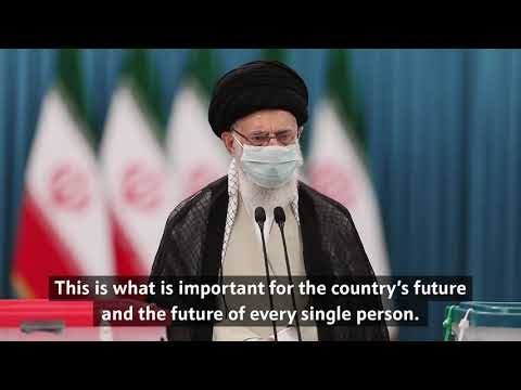 Imam Khamenei's statements to the people of Iran on Election Day - Farsi Subs Eng