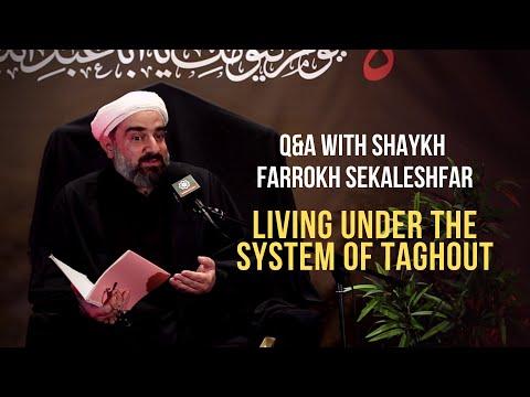 Q&A   Shaykh Farrokh Sekaleshfar   Muharram 1443/2021   English