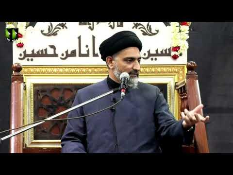 Majlis -e- Aza   H.I Nusrat Abbas Bukhari   24th Muharram 1443/2021   Urdu