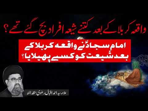 Waqia karbala k bad k halaat | Allama Syed Ahmed Iqbal Rizvi | Urdu