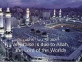 Suratul Fatihah-Arabic Subtitle English