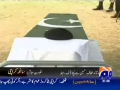 Funeral Procession for Martyrs of Ashura Blast - GeoTV Report - 29Dec09 - Urdu