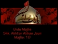 Qualities of Companions of Imam Hussain a.s - Majlis 11-AshuraNight - Agha Jaun - Mohrm1431-Urdu