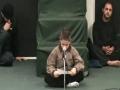 Hussain Ali - Reciting Poem in Honor of Hazrat Zainab - Arabic