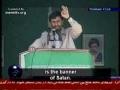 President Ahmadinejad - DEATH TO ISRAEL - Persian Sub English