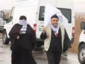 Aid Convoy in Istanbul gets Heros welcome - English