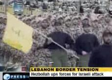 Israel Massing Troops On Lebanon Border - HIZBULLAH On High Alert - 22Jan10 - English