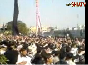 [2 KARACHI] Despite ATTACKS on Mourners, Arbaeen Commemoration CONTINUES - 05Feb10 - Urdu