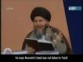 Shia and Sunni love Hussain - Wahabis Do Not - 5 of 6 - Arabic sub English