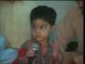 4 years old kid from Pakistan, memorizer of Quran - Arabic Urdu