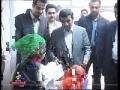 President Ahmadinejad - Visits Tehrans Children Clinic - 21stMarch2010-Farsi