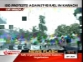 Resillient crowd protest outside US Consulate in Karachi - 01Jun2010 - English