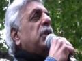Freedom Flotilla Massacre protest   Tariq Ali   London 31 May 2010 - English