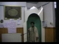 Islamic Revolution and Itekaf Khotbae Joma - 13 Rajab 2010 - Urdu