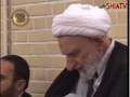 Ustad Rafiie from Masjide Fatimiya Qom on Relation with Allah - Agha Behjat present in Program - Farsi