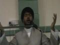 Masaib of imam musa kazim in Brisbane Australia with lovely Noha by Molana muhammad raza jan kazmi 2010 - English