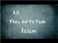 Islamophobia, How far Secular West wants to go?! - English