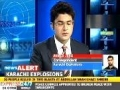 At Least 10 martyred, 50 injured in 2 bomb blasts in Abdullah Shah Gazi Shrine, Karachi, Pakistan - 07 OCT 2010 - Englis