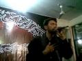 Ali Safdar - Ibne Payambar Alwida - Live Noha Mohammadi Dera Malir 2010 - Urdu