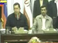 President Ahmadinejad and President Chawez Speech After Signing MOU in Iran - English