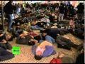 Anti-NATO protesters play dead ahead of Lisbon summit - 19 Nov 2010 - English