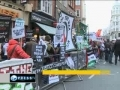 Gaza war anniversary marked in London - 27Dec2010 - English