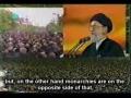 ** Important ** - Imam Khamenei speaking on Ashura - Persian subtitle English
