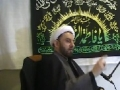 Understand the Imam (as) from Ziyarah Jamiah, Majlis Safar 1432 1-2-2011, H.I. Shamshad Haider - English