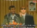 Ahmadinejad speaking about elections - Farsi sub English