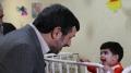 President Ahmadinejad with Children on Nowruz عيد ديدني از كودكان شيرخوارگاه - All Languages