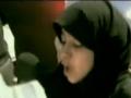 كلمة ابنة الشهيد Speech by the Daughter of a Shaheed in Bahrain - Arabic
