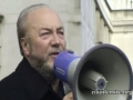 George Galloway speaks to an Emergency Protest Rally in UK - English