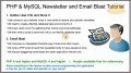 1 Mass Email Website Newsletter Bulk Batch Send Tutorial PHP MySQL - English