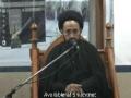 Falsafay Ahkam or Jaheliyat ki Aqdaar - H.I. Sadiq Taqvi - Majlise Shahadat Hazrat Fatima - Urdu
