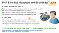 4 Mass Email Website Newsletter Bulk Batch Send Tutorial PHP MySQL - English