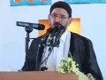 Milad Program from Haram of Emam Raza as - Qaseeda Speeches - Mashad Iran - Farsi