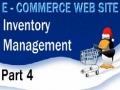 4 E Commerce Website Tutorial PHP MySQL Inventory Management - English