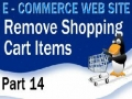 14 E Commerce Website Tutorial Remove Items From PHP Shopping Cart - English