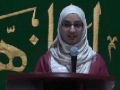 CASMO World Women Day 2011 - speech by Sr Rukh-e-Zahra - English