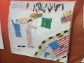 USA GET OUT FROM OUR LAND - Anti America Painting Compitition Org by ISO Karachi Div - Urdu