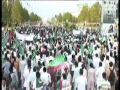 (Raw Clip5) 2011 اسقلال پاکستان کنونشن Massive Rally heads towards Parliament House - Urdu