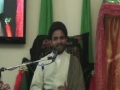 Milad E Imam Hussain  (a.s) - Speech Moulana Rizwan Rizvi - Urdu