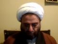 Self Building Session [30July11] Ruling/Manners of Amr bil Maroof and Nahi Anil Munkar - H.I. Hurr Shabbiri - English