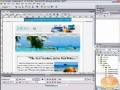 Tabbed Navigation Bar Dreamweaver Tutorial - English