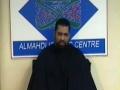 [Ramadan 1432 - Asad Jafri - 10] Wafat of Hazrat Khadija SA, Life & Death - Night 9 10Aug11- English