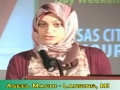 [MC 2011][Poetry Slam] Poetry by Aseel Machi - English