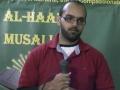 Al-Haadi Musalla Invites Br. Mujahid Noorani - A Gaza Flotilla Veteran 2011 - Urdu