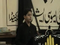 5th Muharram 2008 Haider of  Sunday School Hussaini Calgary - English