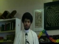 if u dont pay charity ur worships are not accepted  - Molana syed m r jan kazmi Geneva ramadhan 2011 - English